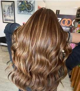 Salon work Hairexp.