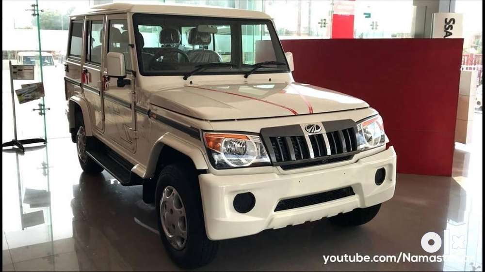 mahindra bolero slx 4wd, 2019, diesel