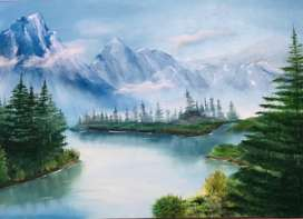 New Oil Painting Scenery