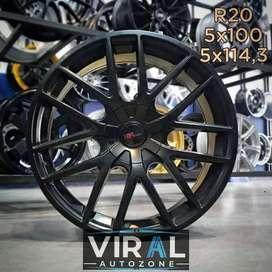 Velg / Pelek Buat Mobil Corolla Altis R20 HSR Promo Free Ongkir