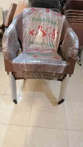 Set of plastic chairs big size sofa chair style