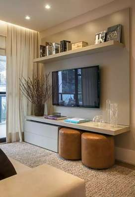 Backdrop TV sederhana