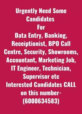 Banking and Accountant Job