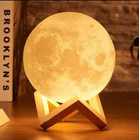 Moon Lamp. Lampu tidur bentuk Bulan Aesthetic