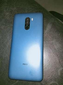 Selling Poco f1 khali 7 months hua h phone new h