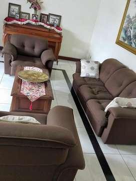 Sofa kain (tanpa meja)