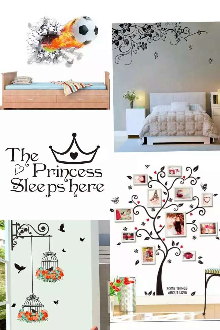 DIY Wall Stickers Adhesive For Kids Room
