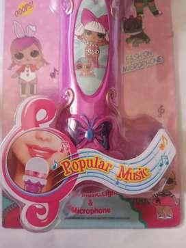 Mainan anak lol mikrophone baru yah