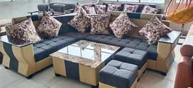 Sofa end dyning table
