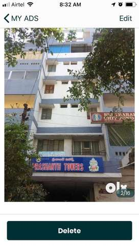 3BHK Commercial/ Residential Flat for Rent