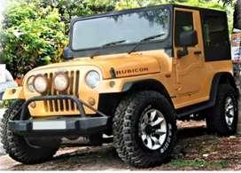 Rubicon stylish modified jeep