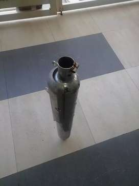 Royal Enfield silencer