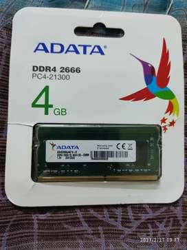 4GB ADATA DDR4 SO-DIMM LAPTOP RAM