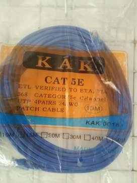 Kabel Lan 10 m. Garansi Pasti Connect !