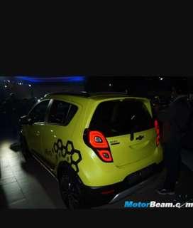 Chevrolet beat led tail lights