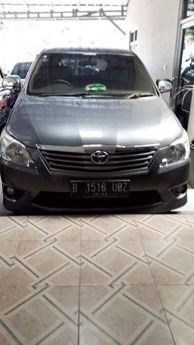 Toyota Innova 2012 G 2.5