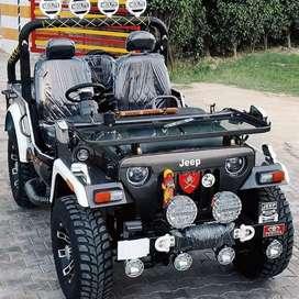 Hunter modified open Willys jeeps Shri Bala ji modifiers
