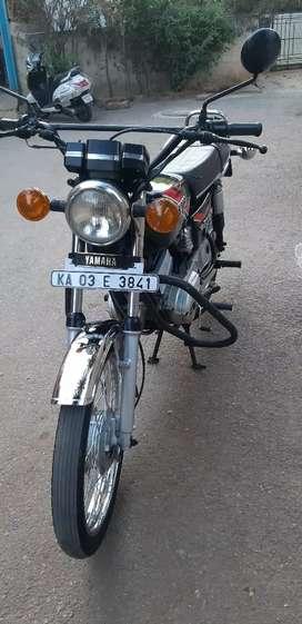Yamaha rx 100 stock an original spare