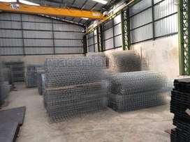 Pabrik Pagar Besi BRC Elektroplating Galvanis Malang