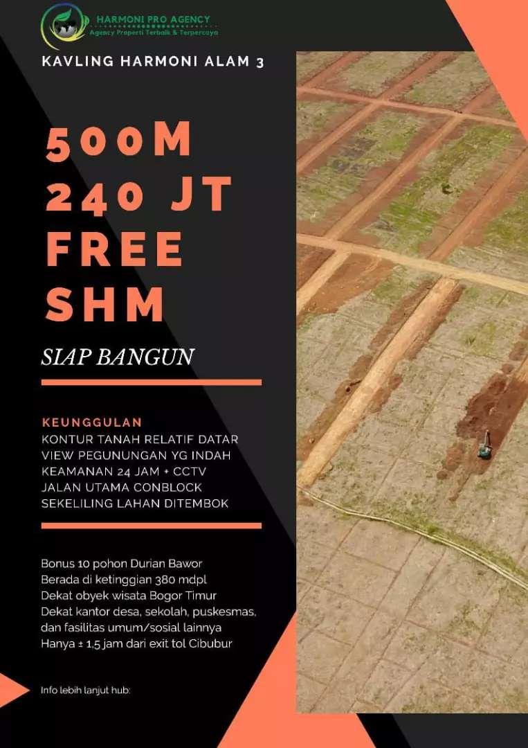 Dijual Tanah Strategis 500m2 di Bogor Timur 0