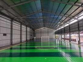 Kontraktor lapangan futsal interlock cod
