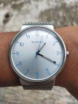 Skagen Ancher Heavy Gauge Steel Mesh Watch