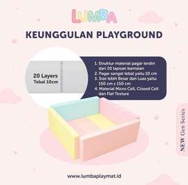 Lumba playmat 2x2m + gate