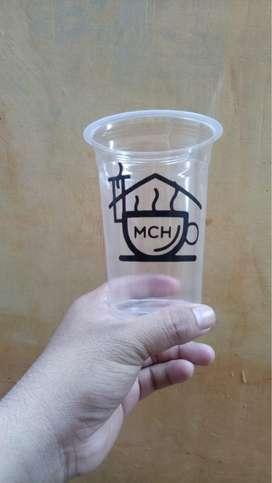 Sablon Cup Papercup Plastik