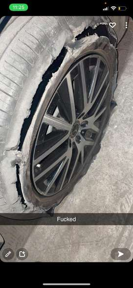 The rim is totally in new condition