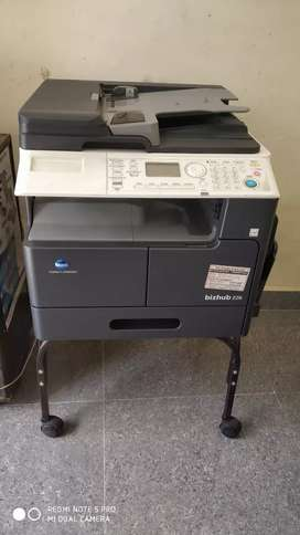 Very good condition b/w photo copier, scanner and printer