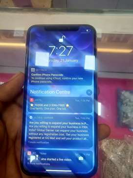 iphone x like new condition totally unused