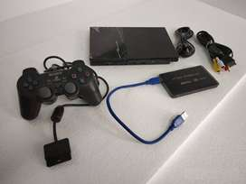 PS2 160 GB WITH 60 GAME
