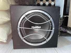 Subwoofer bass sony xplod 1800 watt