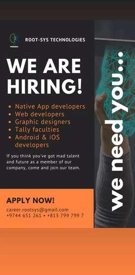 App developer,python dev,tally faculty,graphic designer