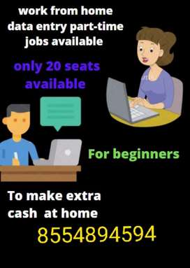 Required 20 persons who want online offline work weekly/monthly