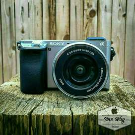 Camera Sony A6000, DP cm 900rb-an Kredit proses cepat 15mnt Acc Guys