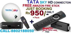 Holi Special#Offer#TaTa Sky New Hd Box With Amazon Fire Stick Rs.950