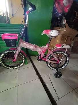 "Sepeda lipat anak 16"""