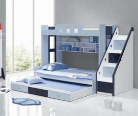 Triple Bunk Bed For Baby Boys & Girls