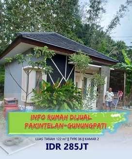 Rumah siap huni di pakintelan Gunungpati Semarang