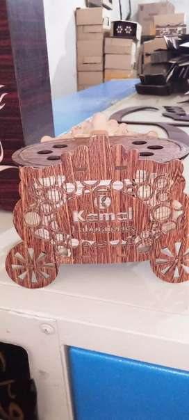 We sell wood art decorations unique pieces on demand