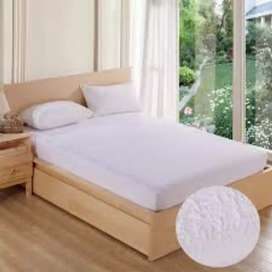 The Waterproof Mattress Protector Protects