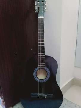 Black acoustic guitar for sale!!!