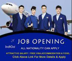 Urgent Hiring Airport job Airhostess, Ground Staff, Supervisor, Loader