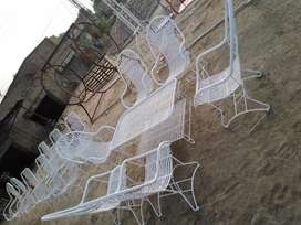 Iron Garden fancy chair Kursi for lawn and office