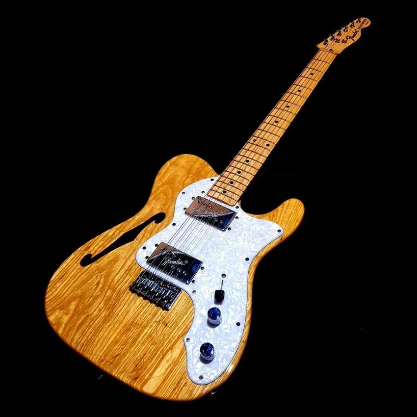 Fender Telecaster Thinline TN72 Natural Ash Japan 2007 Great Condition 0