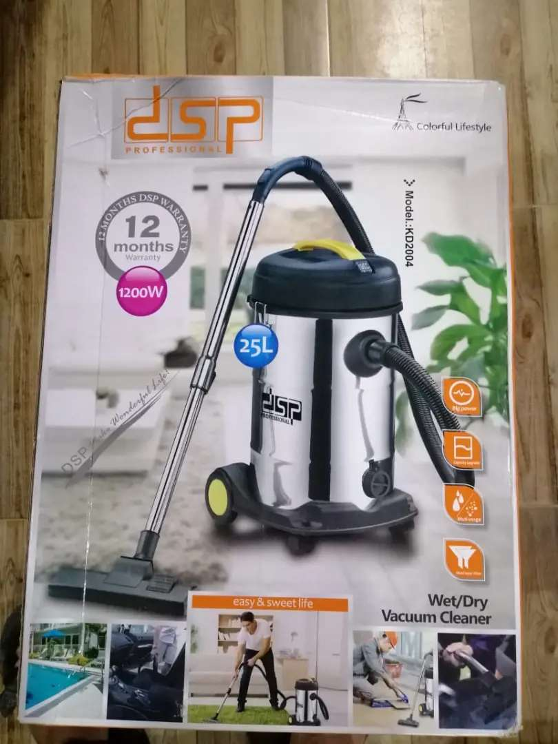 Imported France wet and dry Drum Vacuum cleaner 0