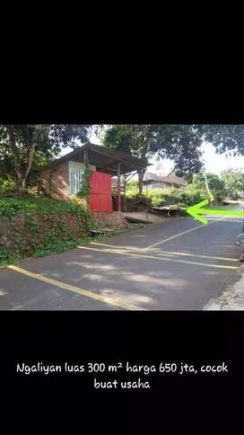 tanah+rumah ngalian pinggir jalan