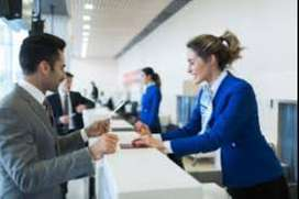 ticketing executive job in goa Airport