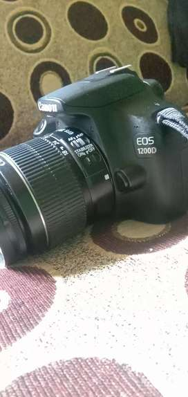 1200d canon camera with single lense